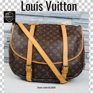 Louis Vuitton crossbody bag saumur 43 bag monogram